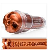 Мастурбатор Fleshlight Turbo цвета меди с текстурой Thrust